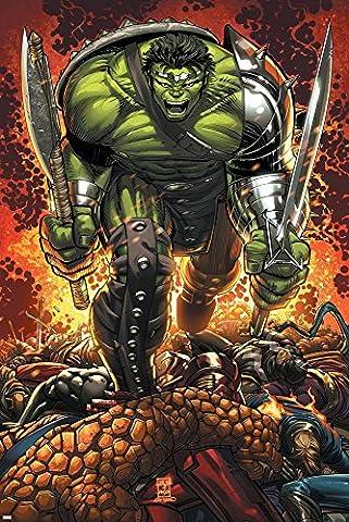 World War Hulk Prologue: World Breaker Cover: Hulk Poster By