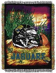 NFL Jacksonville Jaguars Acrylic Tapestry Throw Blanket