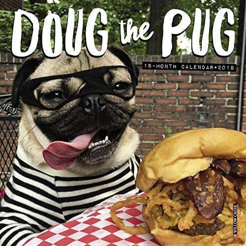 Doug the Pug Mini Calendar 2018