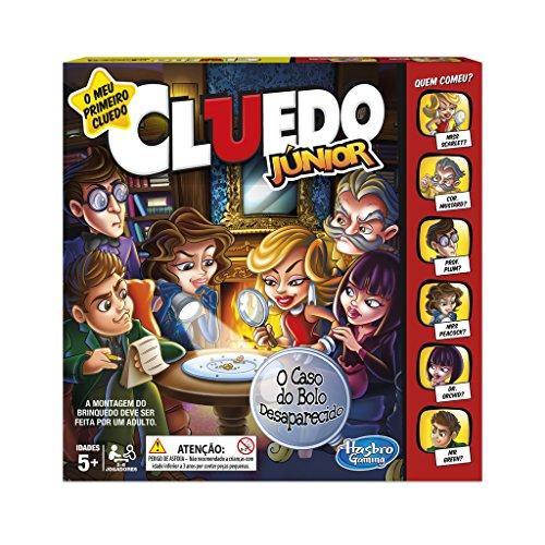 Hasbro Gaming - Cluedo Junior (Hasbro C1293190) (versión en portugués)