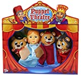 Story Tell Goldilocks & The Three Bears Puppet Theatre Show Hand Stage Fun Play Gift Present Kids Children Role Show Toy Activity