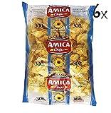 6x Amica Chips Classica Chips Patatine Kartoffelchips gesalzen 300g Kartoffel