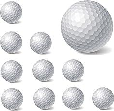 10PCS nuovo schiuma PU Golf Ball indoor outdoor palla da golf da allenamento, allenamento Golf forniture (bianco)