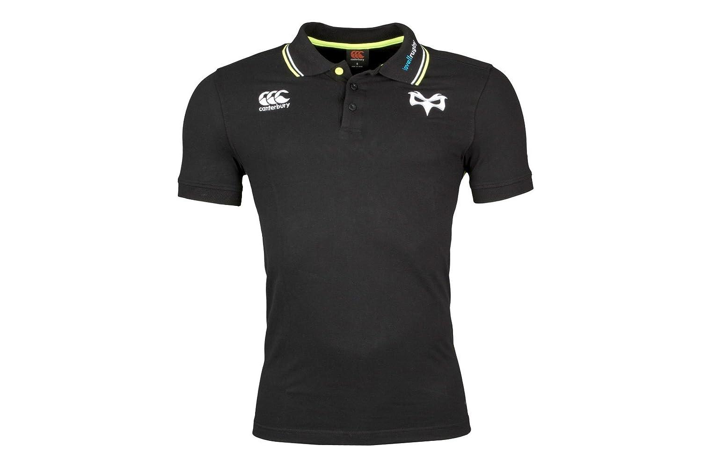 Surf The Web Size XL Blue Canterbury Bath 2017//18 Players Cotton Pique Rugby Polo Shirt