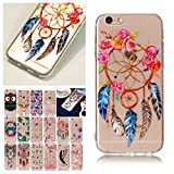 V-Ted Coque Apple iPhone 6S Plus 6 Plus Attrape Reve Plume Silicone Ultra Fine Mince...