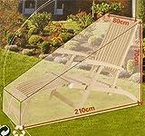 Liegestuhl-Abdeckung, Liegestuhl-Hülle Regenschutz Garten Schutzhülle Gartenliege Sonnenliege Wasserdicht