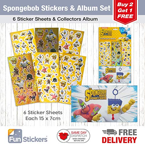 ckers, 6 Sheets, Each Sheet 14 x 7cm with Sticker Album ()