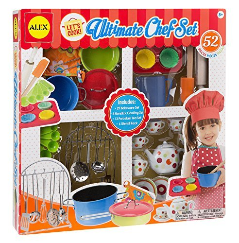ALEX Toys Let's Cook Ultimate Chef Set by Alex