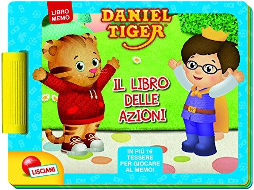 Il libro delle azioni. daniel tiger. libro gioco