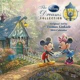 Official Thomas Kinkade: The Disney Dreams Collection 2018 Mini Wall Calendar