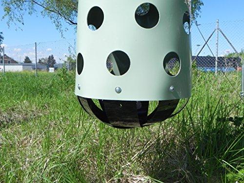 HeuToy Original vom Erfinder (aufgebaut),das bessere Heunetz,Heusack,Heuraufe - 5