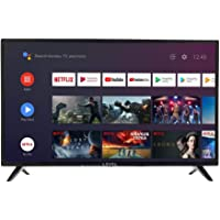 """LEVEL HDA9032 Android TV™ 32 Zoll 81cm (HD LED 32"""" Smart TV, Triple Tuner, Android TV 9.0 Pie, Google Assistant, Google Play, Prime Video und Netflix) Wi-Fi"""