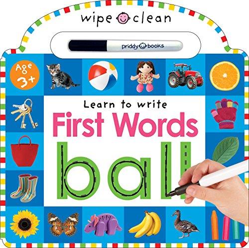 Wipe Clean: First Words por Roger Priddy