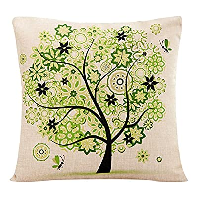 "Bluelans® Square Throw Pillow Case Decorative Cushion Cover Pillowcase 17"" x 17"""