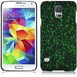 JAMMYLIZARD | 3D Splash Back Cover Hülle für Samsung Galaxy S5 Mini, GRÜN