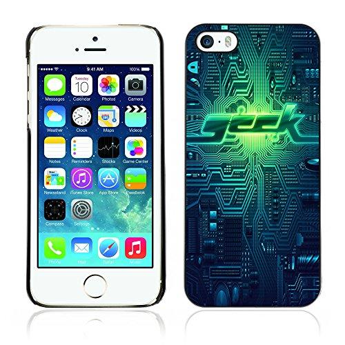 Graphic4You Geeks on Speed Design Harte Hülle Case Tasche Schutzhülle für Apple iPhone 5 und 5S Design #2
