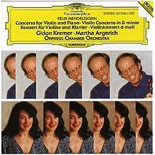 Mendelssohn : Concerto pour violon en ré mineur ; Concerto pour violon et piano en ré mineur