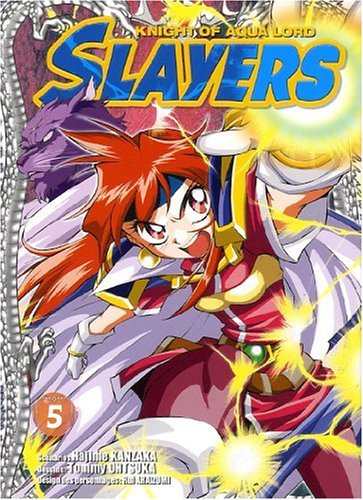 Slayers The Knight of Aqua Lord, Tome 5 :