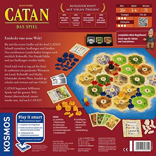 Kosmos - Catan - Das Spiel, neue Edition, Strategiespiel von Kosmos