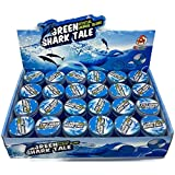 #4: RIANZ Shark Tale Crystal Clear Putty Slime Jelly Clay with Marine Animal Figures Set of 2, Color May Vary (Aquatic Animal)