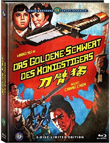 Das goldene Schwert des Königstigers - Mediabook  (+ 2 DVDs) [Blu-ray] [Limited Edition] Preisvergleich