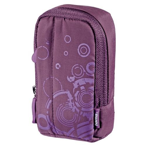 Hama Fancy Print 60L Kompaktkamera-Tasche lila