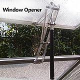 ONEVER Fenster Vent Opener 7kg Landwirtschaftliche Gew?chsh?User Solarbetriebene automatische Dach Opener Gartenger?te