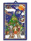 Goldmännchen Adventskalender mit 24 hochwertigen Teesorten für himmlischen Teegenuss, 1er Pack (1...