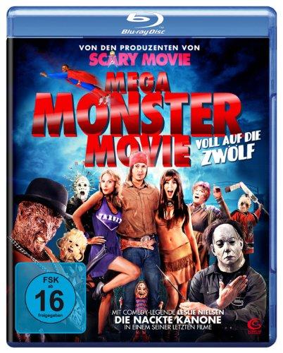 Mega Monster Movie (Von den Machern von Scary Movie) [Blu-ray] (Halloween Lachen Scary)