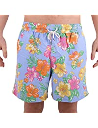 Ralph Lauren Men's 710692875002 Light Blue Polyester Trunks