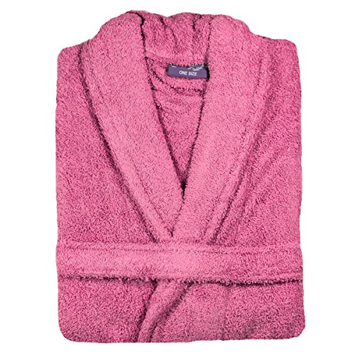 Linens Limited 100% Egyptian Cotton Bath Robe, Hot Pink, Extra Large - 61b6sIbZlAL - Linens Limited 100% Egyptian Cotton Bath Robe, Hot Pink, Extra Large