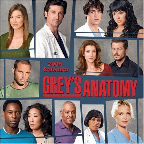 Grey's Anatomy: 2008 Wall Calendar