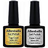 Allenbelle Smalto Semipermante Per Unghie Kit In Gel Uv Led Smalti Semipermanenti Per Unghie Nail Polish UV LED Gel Unghie (B