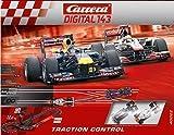 Carrera Digital 143 Traction Control 40022 Digitales Rennbahnsystem Rennstrecke Formel 1 Autorennen Autorennbahn Looping & Spurwechsel