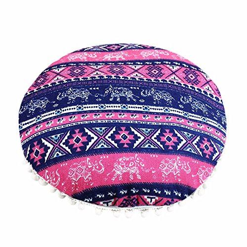 serliy Neueste Indische Mandala-Bodenkissen Färben Hohe Qualität Creative Flauschige kissenbezüge kissenhüllen Spannbettlaken Hause sofakissenbezug günstige schöne Moderne Baumwolle bettwäsche