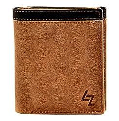 Leather Zentrum Mens Tan Wallet