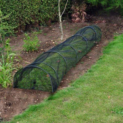 Garden Mile Grand 3m Poly/Filet/Polaire Plante de jardin Grow Tunnel Cloche Semence Propagateur plante Bâche Protection Antigel - 3m Net Grow Tunnel
