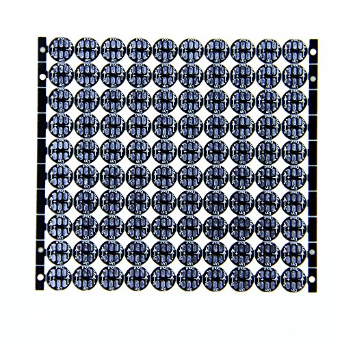 alitove 100pcs WS2812B individually Addressable 5050 RGB LED