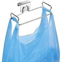 Support de rangement mDesign pour sacs en plastique et pochettes – support de crochet pratique en acier chromé – montage…