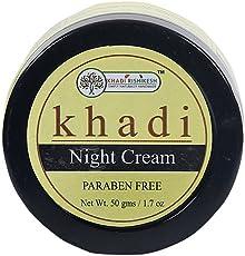 Khadi Rishikesh Herbal Night Cream -50 gm