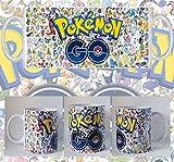 Taza Pokemon Go Logo Pokemons