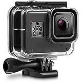 Deyard Boîtier Etanche de 60M pour GoPro Hero 8 Black Etui de Protection Etanche pour Caméra d'action GoPro, Boîtier de prot