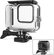 Waterproof Case Compatible with Gopro Hero 8 Black, Womdee 197FT / 60M Protective Housing Case with Quick Release Bracket Accessories for Gopro Hero 8 Action Camera