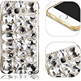 Bling Coque pour Samsung Galaxy A5 2017 A520 Strass Diamant Luxe Coque pour Samsung Galaxy A5 2017 A520 Rhinestone Etui,MingKun Ultra Slim Cristal Brillant Téléphone Case pour Samsung Galaxy A5 2017 A520 Shockproof Anti Scratch Couverture Shell