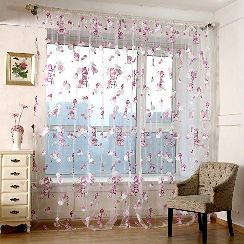 Niños del oso cortinas, pantallas cortinas de cristal del hilado