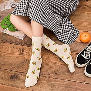 Deanyi Kawaii Calcetines Calcetines Divertidos