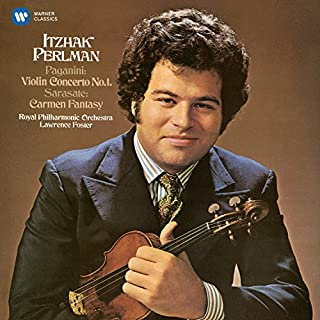 Paganini: Violin Concerto No. 1 /Sarasate: Spanish Fantasy by RPO / Lawrence Foster Itzhak Perlman (B010FULJOU) | Amazon Products