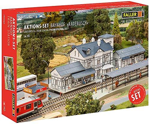 Faller FA 190060 Aktions-Set Bahnhof Radebusch