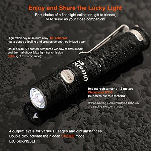 UltraTac K18 Mini Taschenlampe