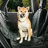 Housse de protection matelassée et étanche pour siège arrière de voiture avec hamac pour animaux domestiques